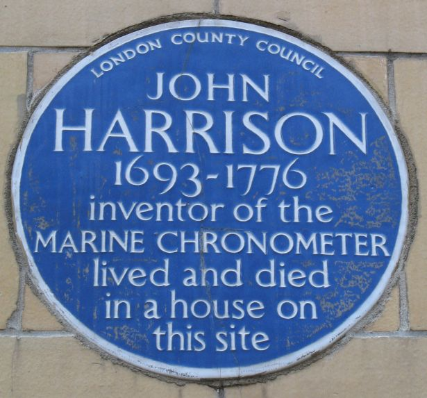 2015 blue plaque Harrison