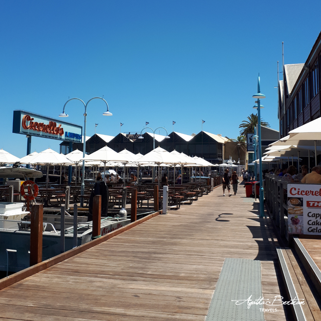 The promenande at Cicerellos, Fremantle